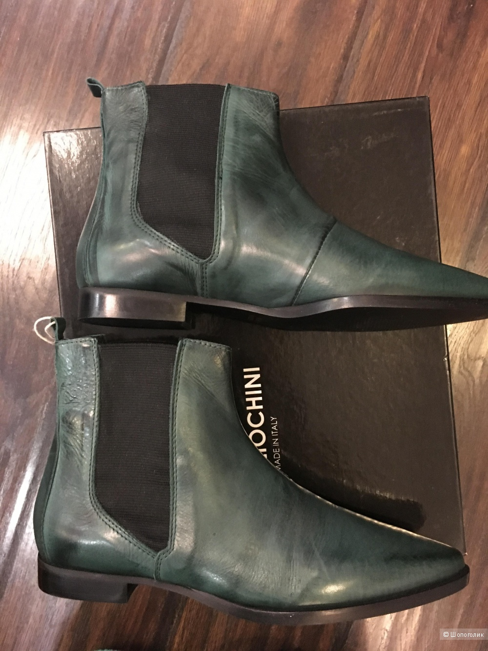 Ботинки челси FABRIZIO CHINI, 38 (Европейский Размер), 24,5 см