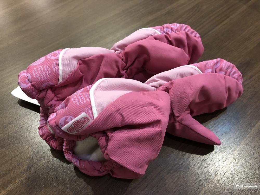 Варежки «Смешарики» для девочки, на 1-2 года