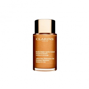 Clarins Мерцающее масло после загара для тела и волос