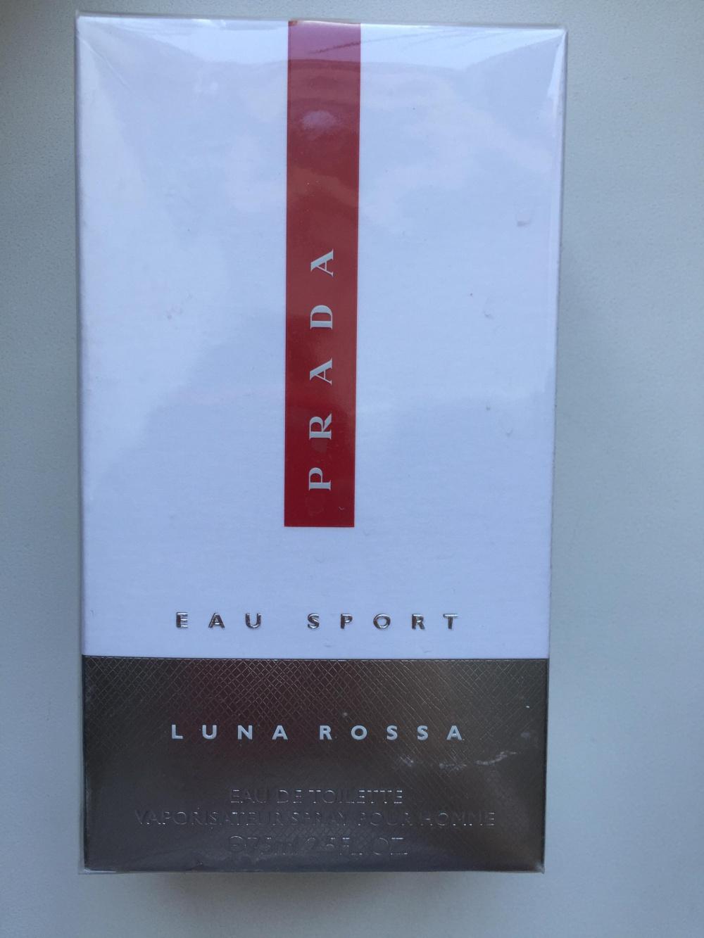 Туалетная вода Prada Luna Rossa eau sport, 75 мл