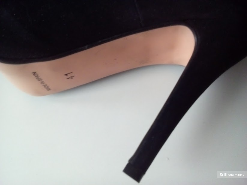 Туфли  из  натуральной замши Events Marypaz, размер 41  Испания