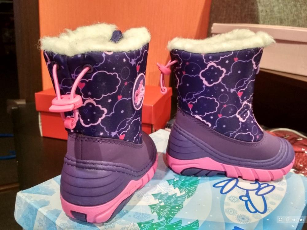 Зимнмие ботинки kapika 21-22
