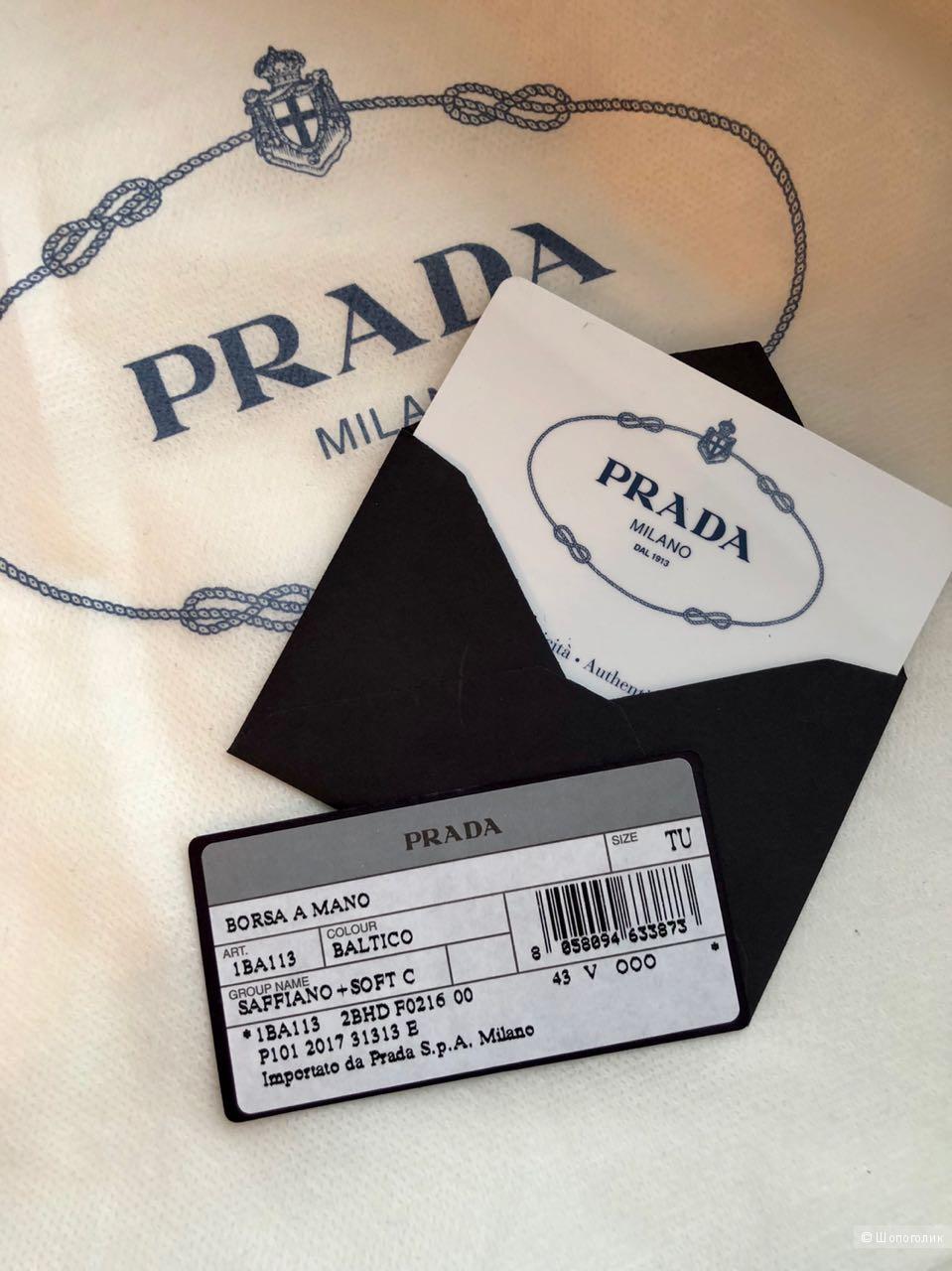 Сумка PRADA Saffiano + Soft C