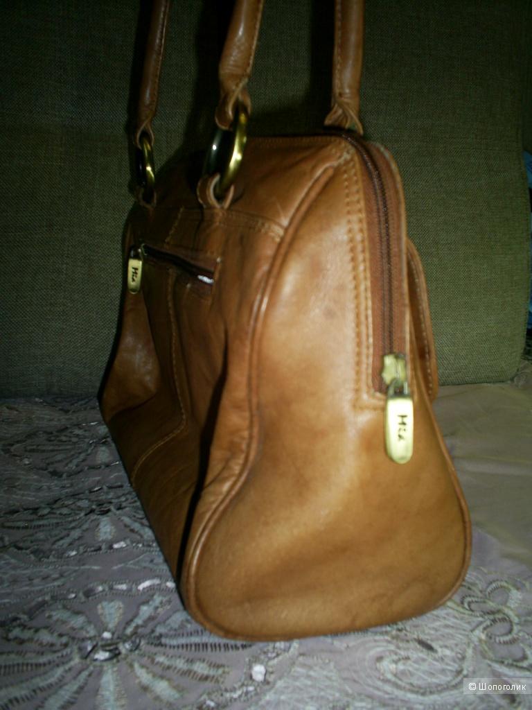 Кожаная сумка от Mia.