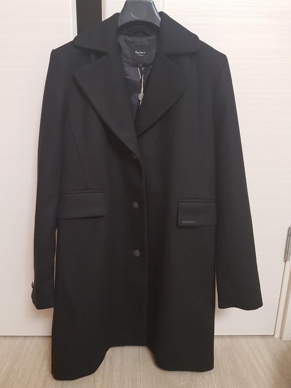 Шерстяное пальто Pepe Jeans, размер M
