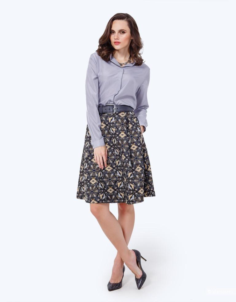 Жаккардовая юбка марка JN (Яна Недзвецкая) , размер 40-42 (36 европейский)