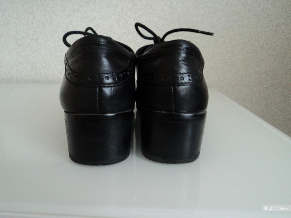 """Туфли из натуральной кожи демисезонные """"MEXX"""" размер 38"""