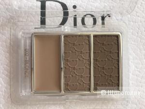 Тестер палеткам для бровей Dior