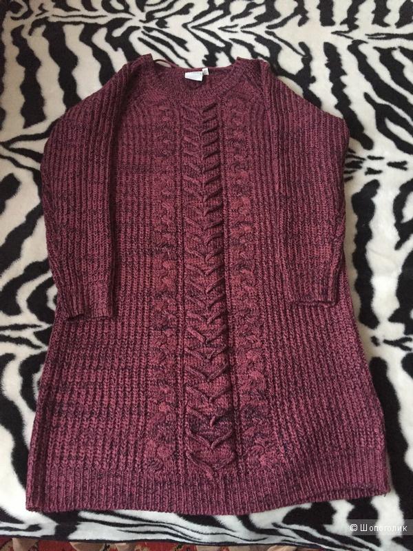 Вязаное платье-джемпер Junarose, 14 UK