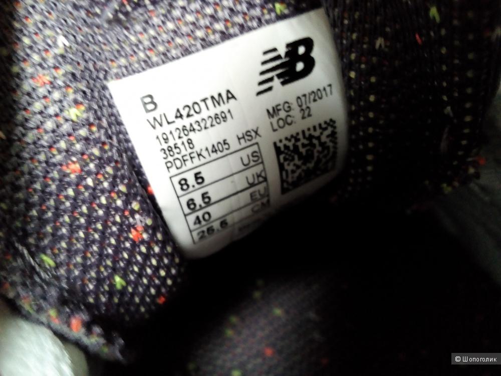 Кроссовки New balance 420, размер 39 рос. евро40, us 8,5, UK 6,5.