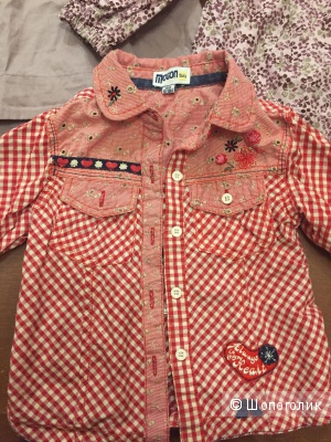 Комплект одежды на девочку 1-1,5 года
