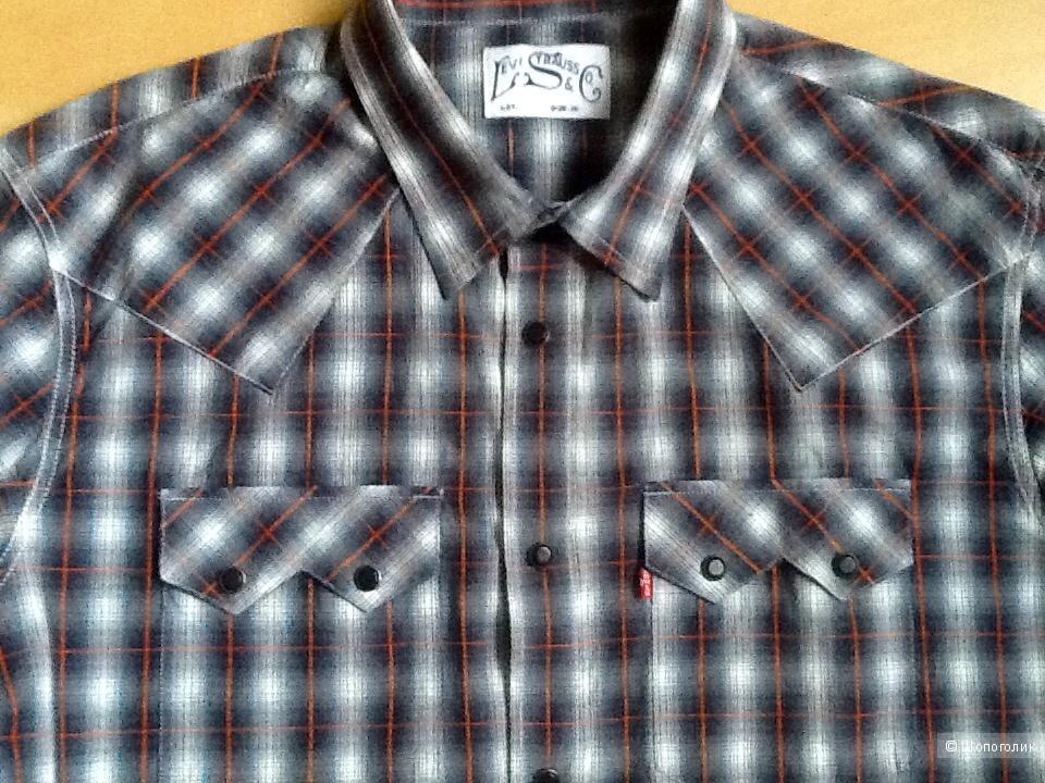 Мужская рубашка LEVI'S,размер L