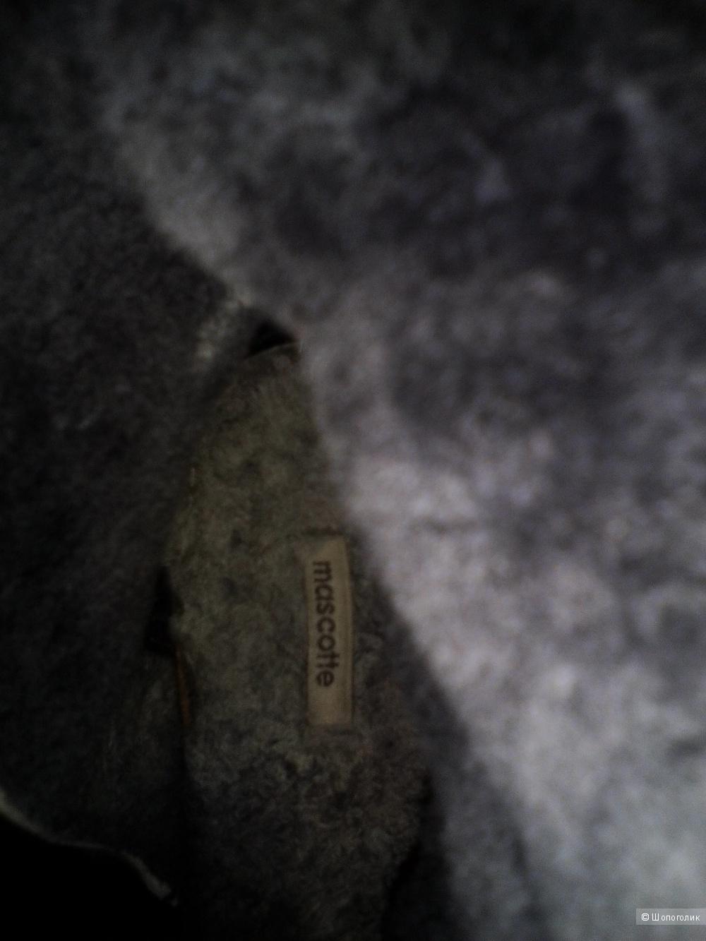 Полусапожки замшевые, Mascotte, 39 размер
