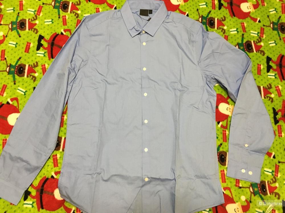 Мужская рубашка с длинным рукавом Asos, размер L, на рос. 48-50