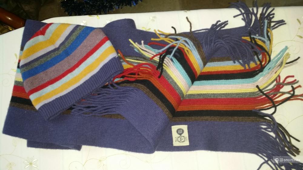 Paul Smith шарф и шапочка