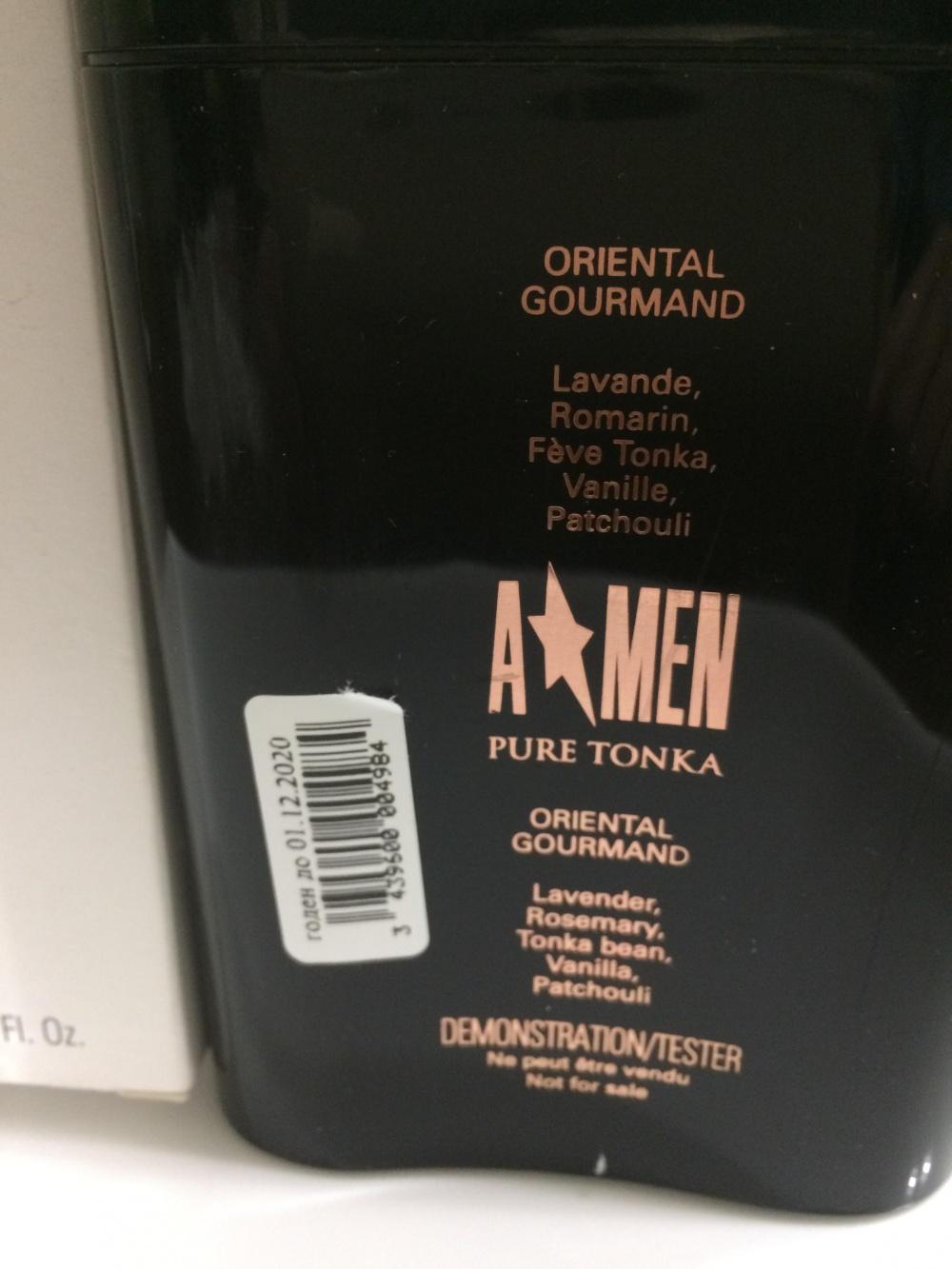 Мужской аромат MUGLER A Men PURE TONKA 100 ml