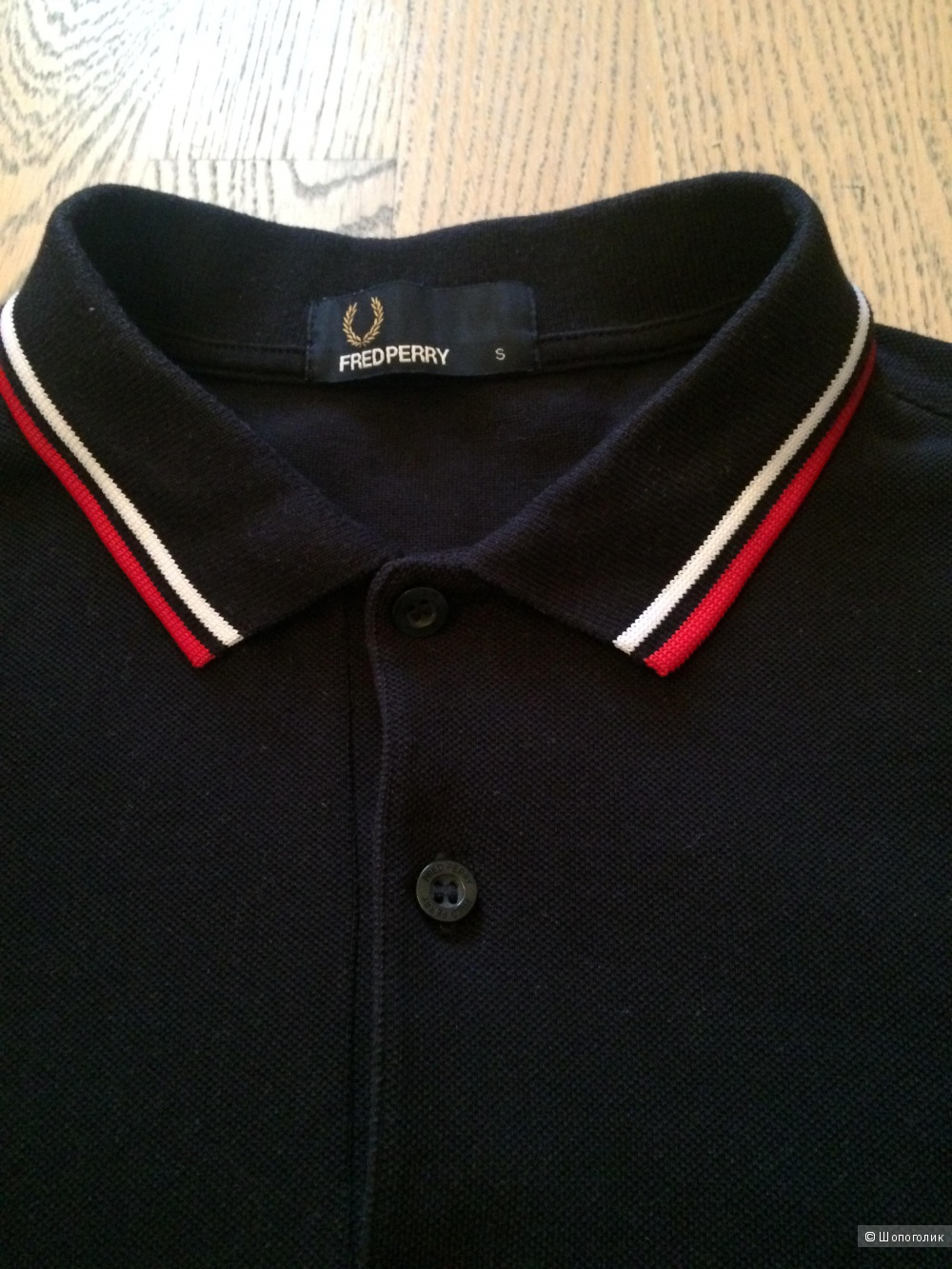 Поло Fred Perry, S