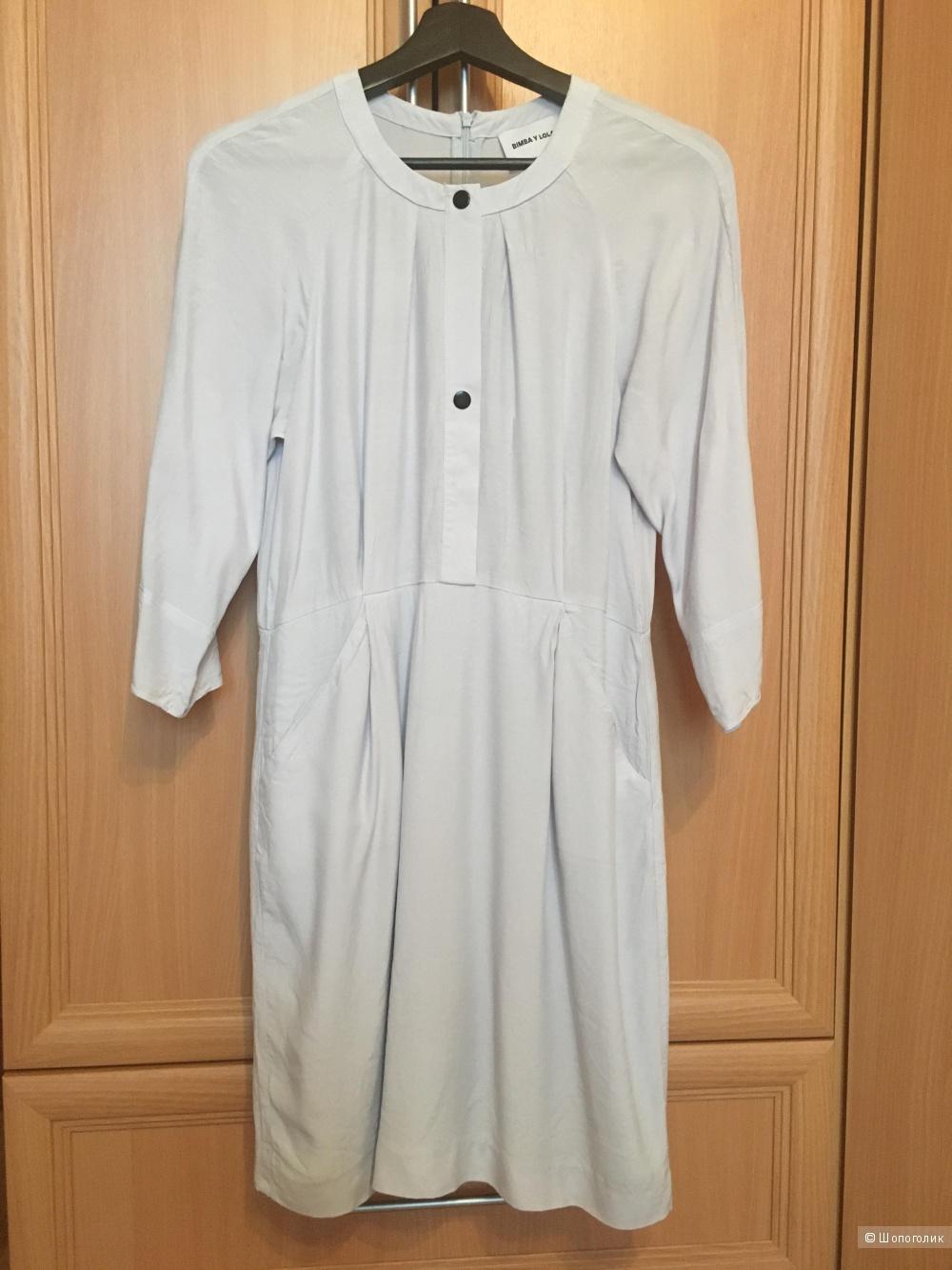 Голубое платье Bimba y lola размер S
