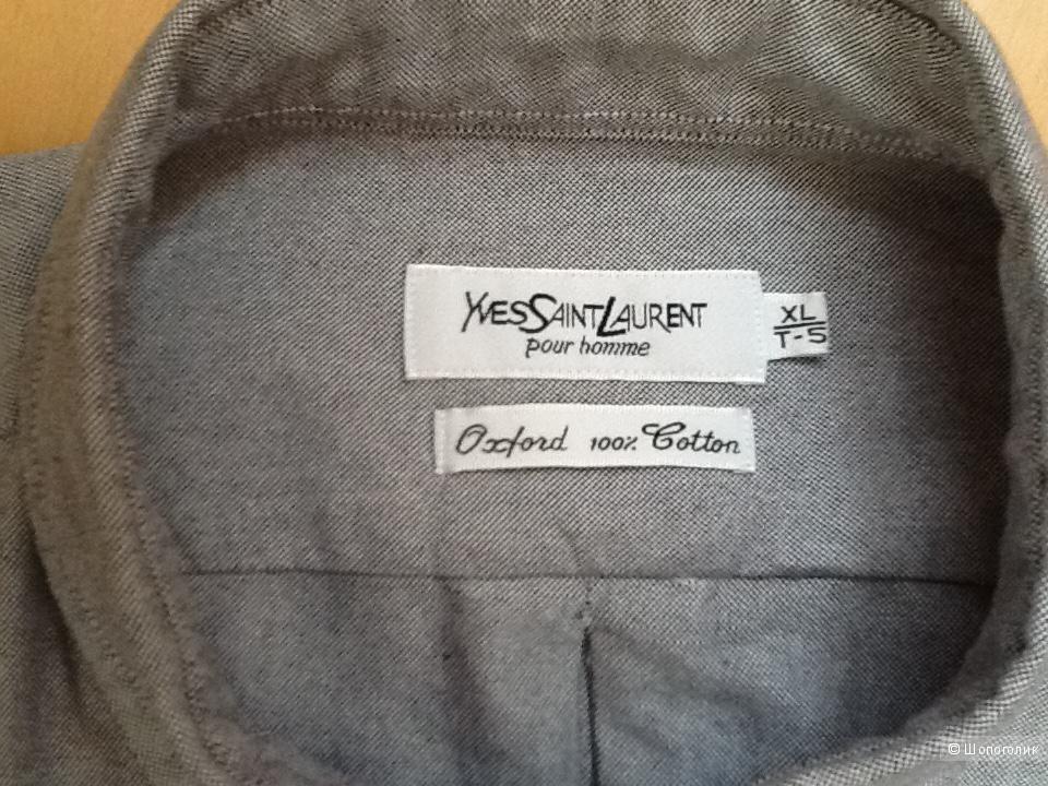 Мужская рубашка OXFORD YSL,размер XL