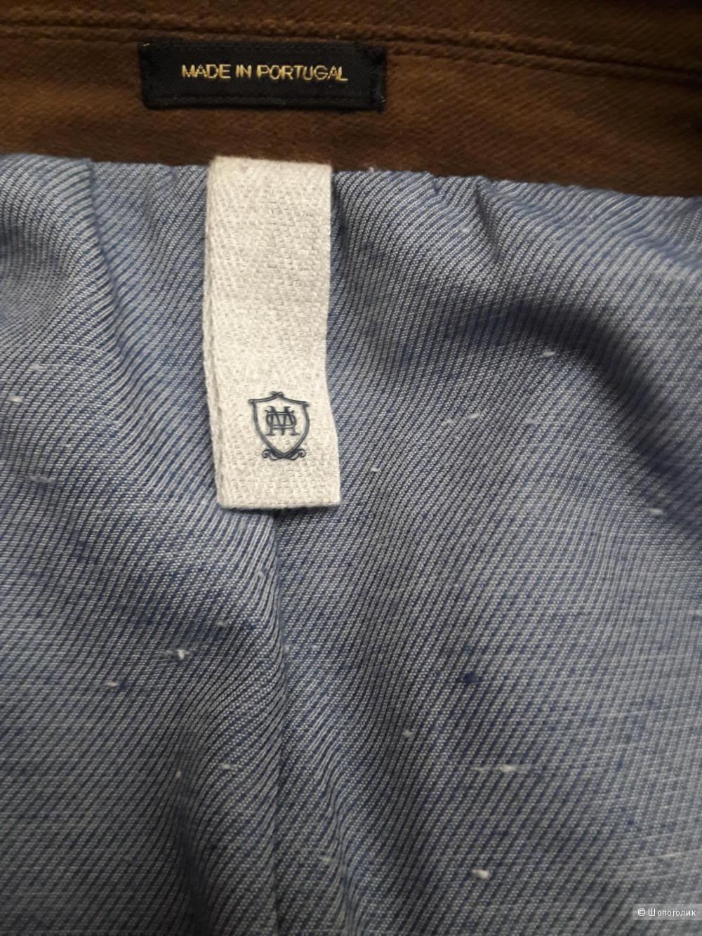 Massimo Dutti: хлопковый мужской пиджак-жакет, М