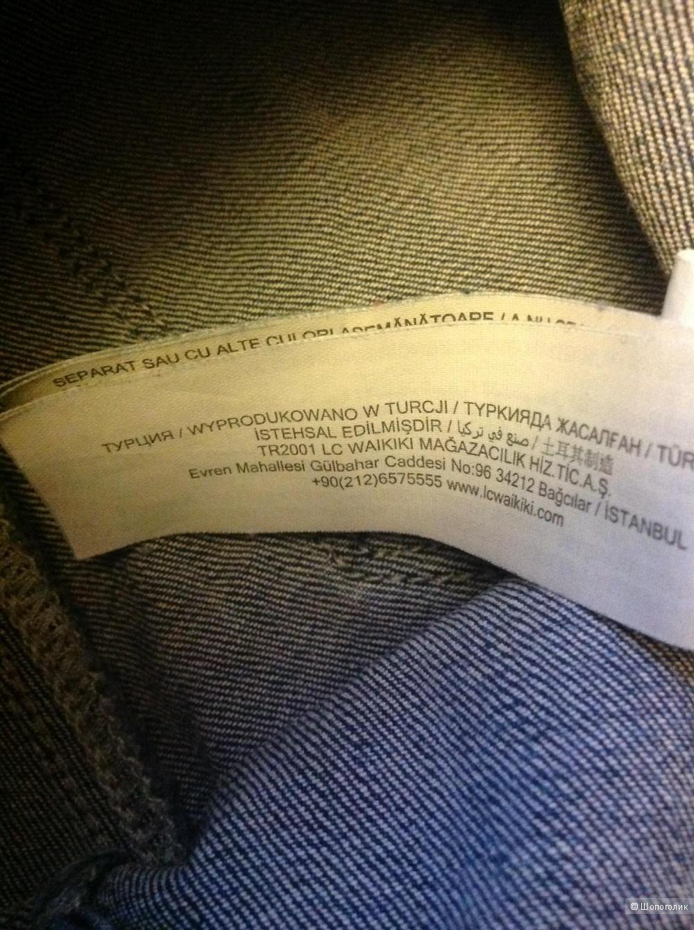 Комплект: джинсы LC Waikiki + майка H&M+ футболка Vis-a-vis, разм. 42 (рос.)