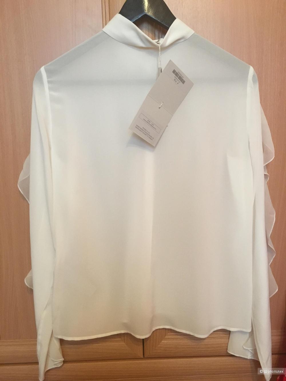 Шелковая рубашка Uterque, размер S
