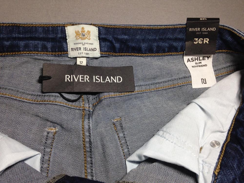 """Джинсы """" RIVER ISLAND """", 48 размер."""