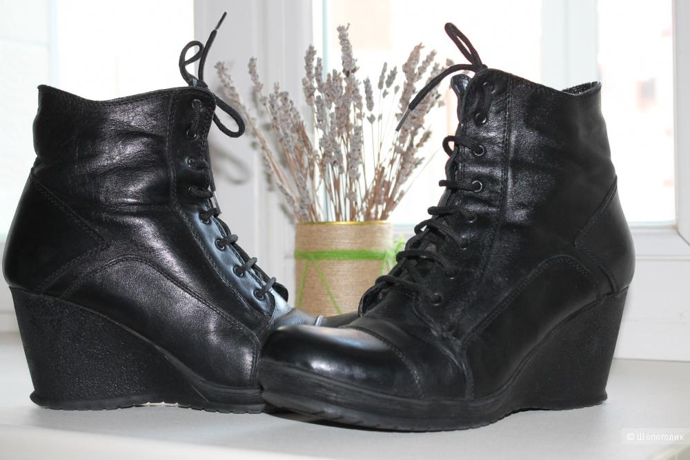 Зимние ботинки, размер 39