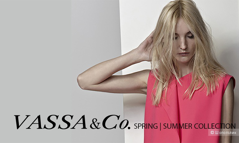 Платье-рубашка VASSO CO, размер 44-46