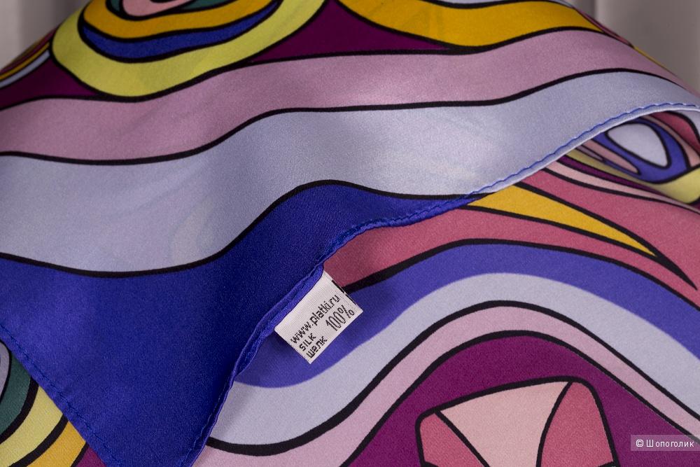 Платок шелковый, 90*90 см.