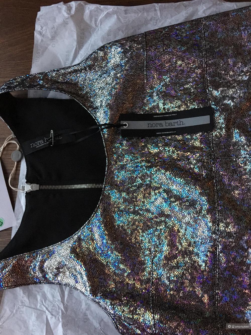 Платье кожаное Nora Barth размер 40-42