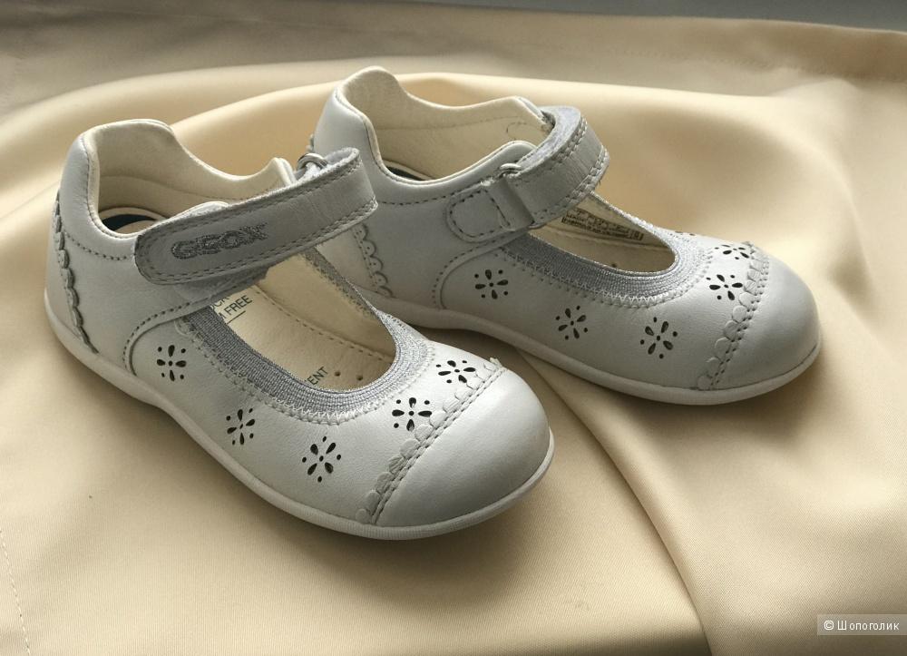 Туфельки на девочку Geox, 24 размер