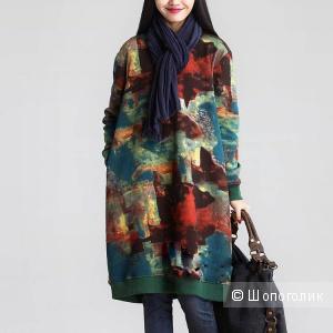 Платье-туника, XL на 48-52р-р