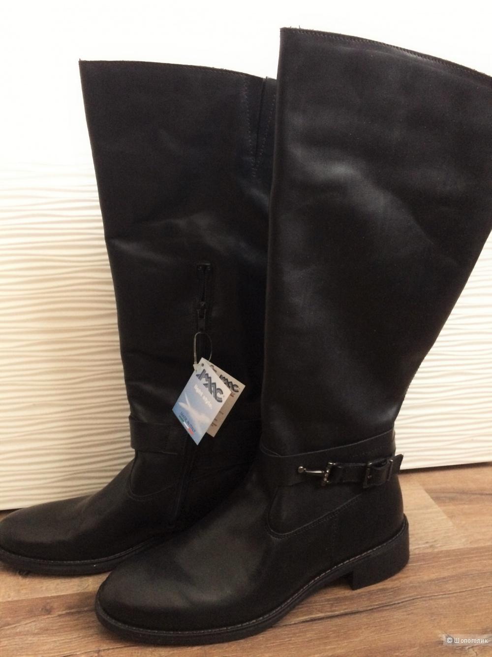 Новые деми сапоги Imac, 40-41 размер,цвет черный