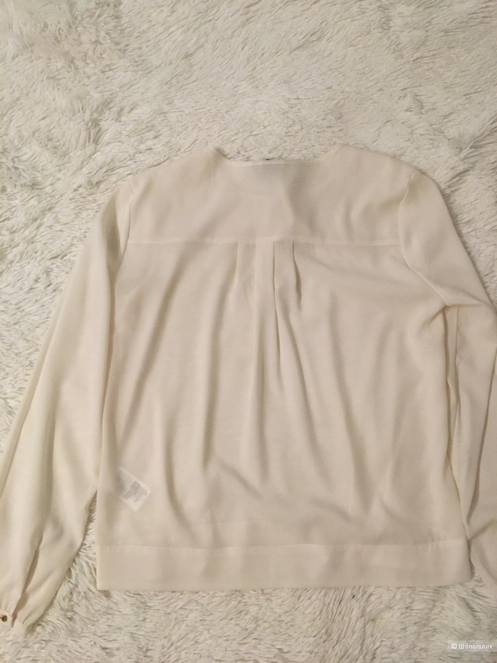 Комплект блузон H&M, размер S+Брюки Loft Ann Tailor, размер S+ сумка no name