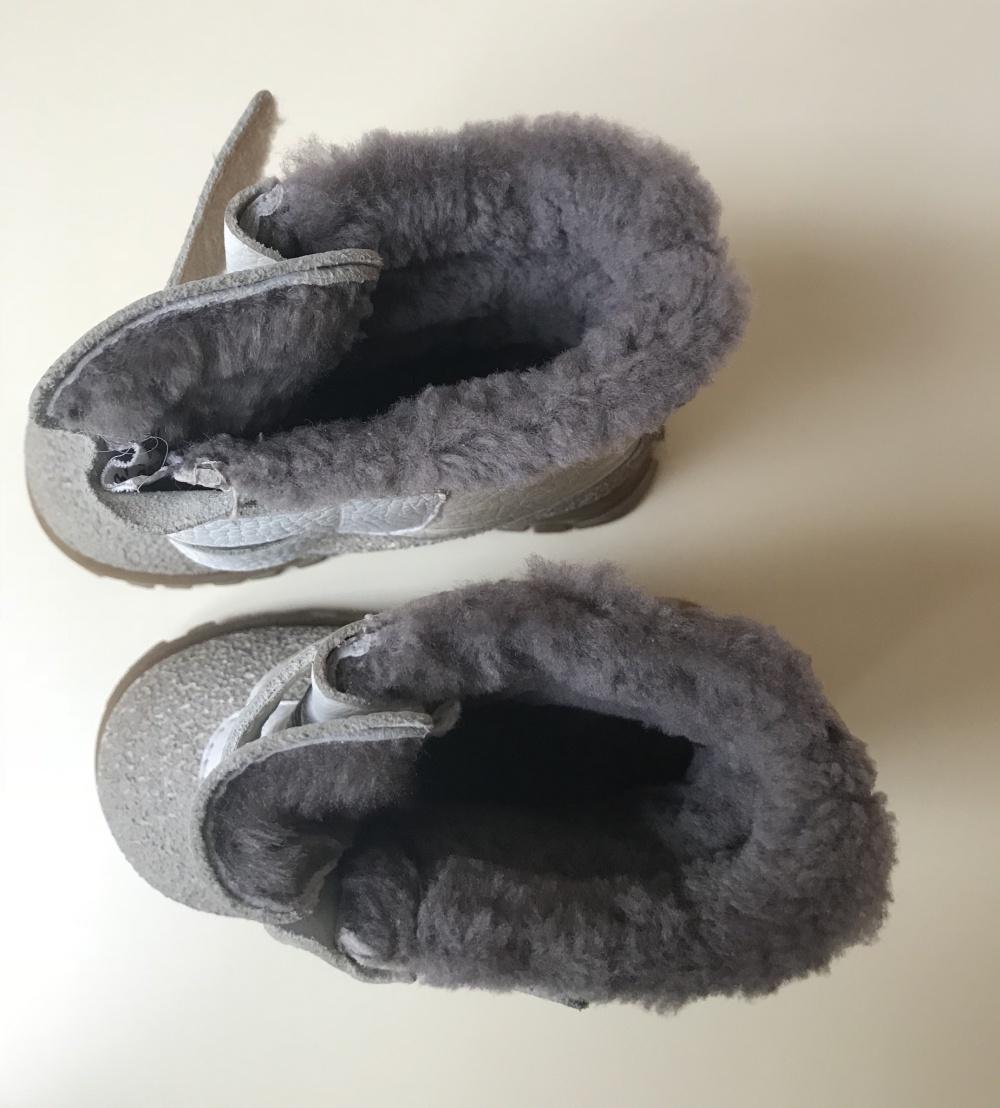Зимние сапожки Зебра, 23 размер