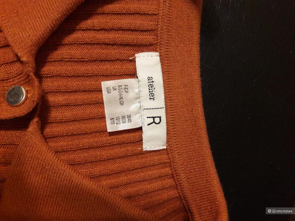 Пуловер-поло , размер 46