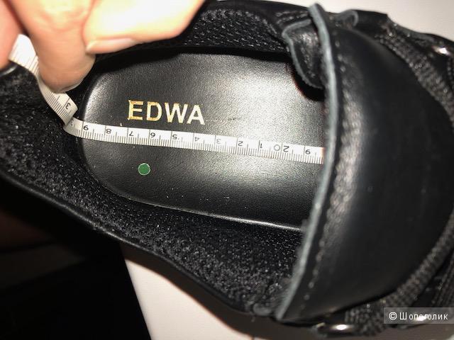 Мужские кожаные ботинки EDWA размер 45EU