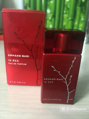"Миниатюра Armand Basi ""In Red"" 7ml"