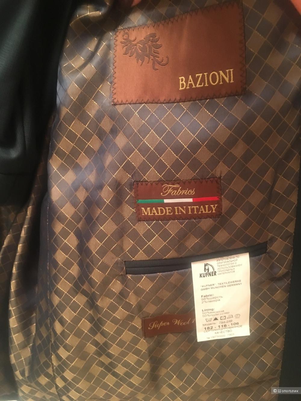 Мужской костюм Bazioni 54-56 размер