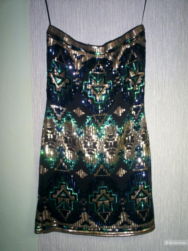 Платье -бандо от Red Chilli р 12 евр на 46 рус.