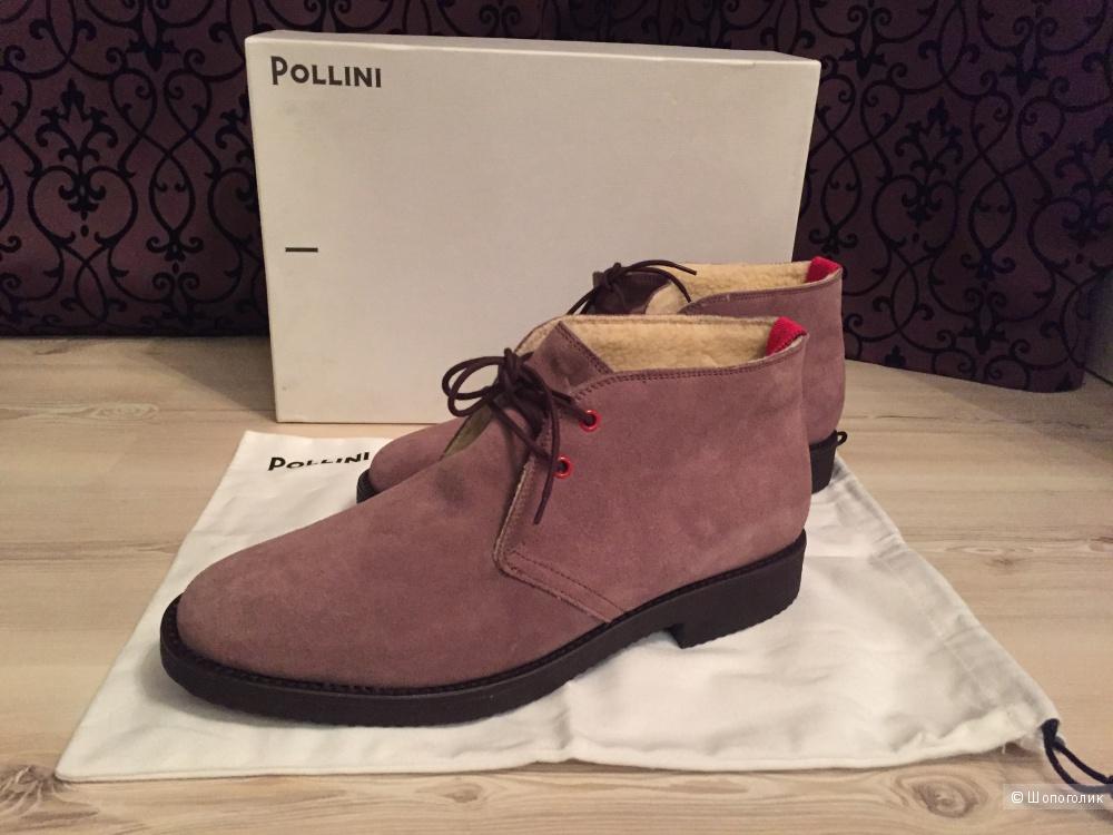Ботинки мужские Pollini, р.43