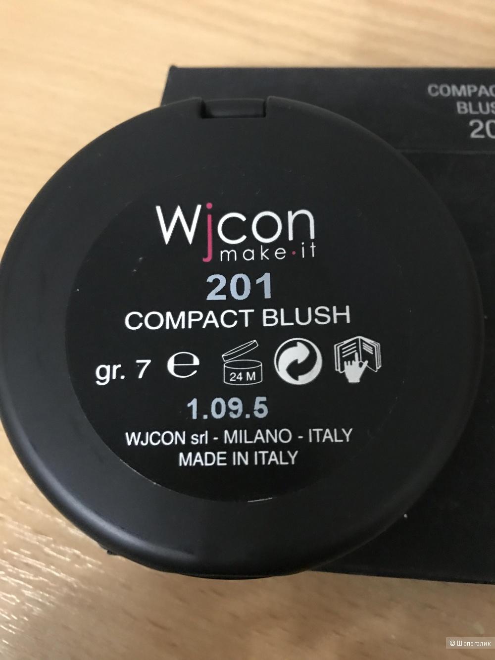 Компактные румяна итальянского бренда WYCON