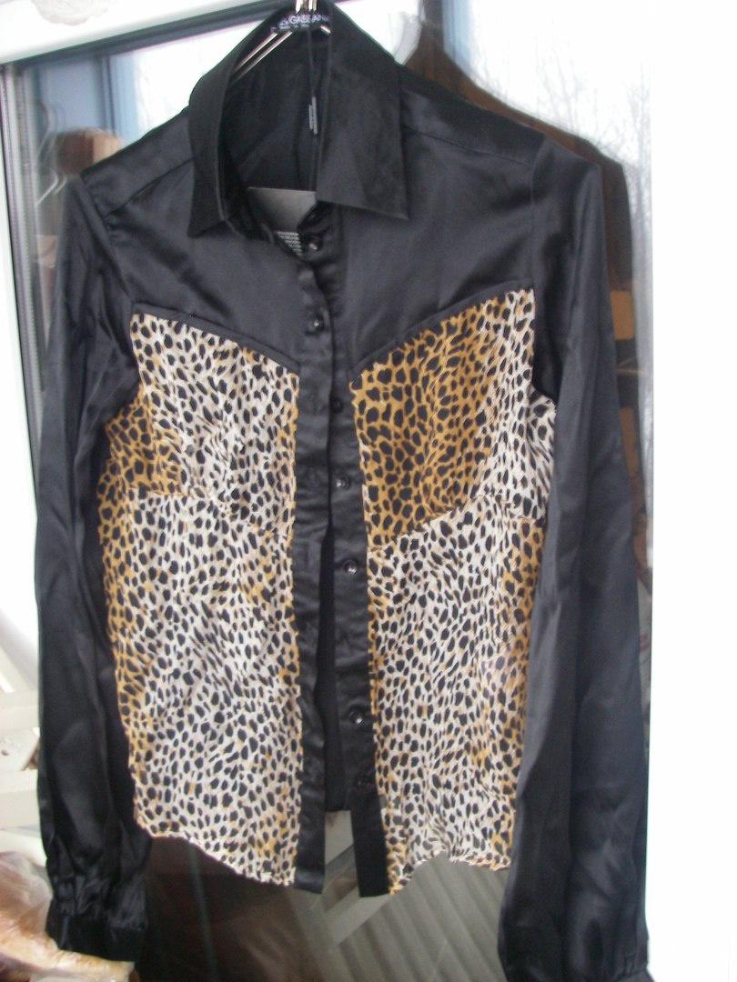 Блузка шелковая Dolce&Gabbana, размер 42-44
