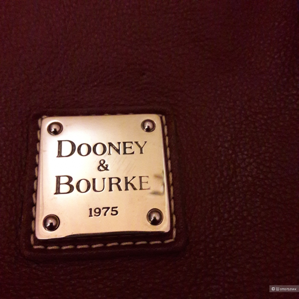 Кожаная сумка Dooney and Bourke