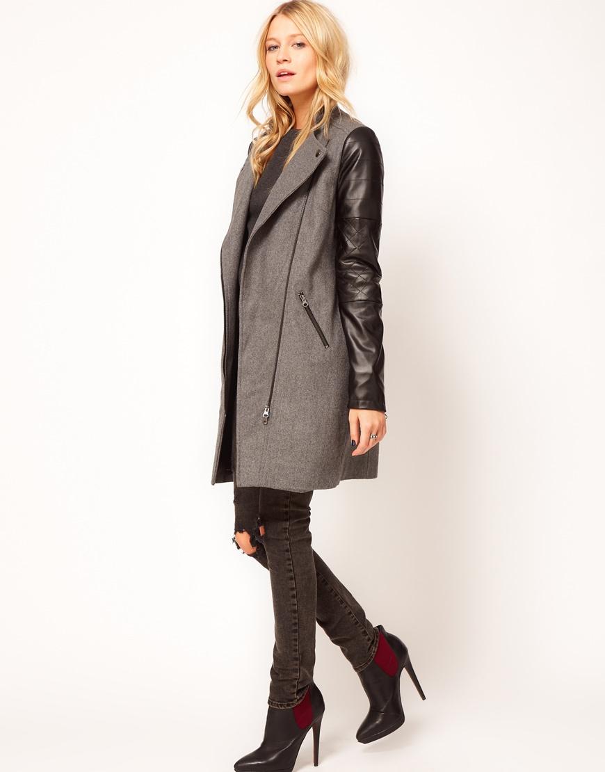 Пальто ASOS, размер UK8