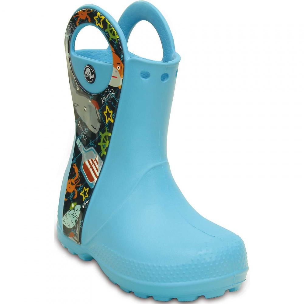 Crocs резиновые сапоги детские, 28 размер