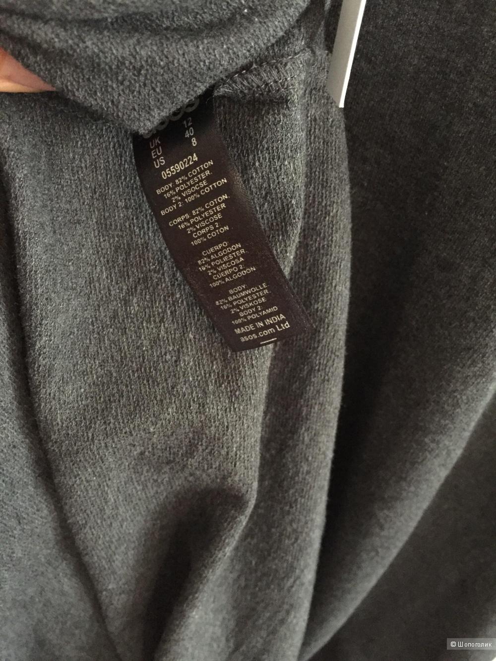 Платье-футболка макси ASOS PETITE , 46-48ру (40eu)