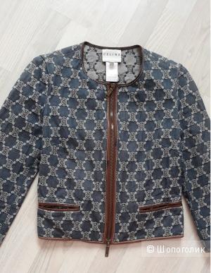 Джинсовая куртка, пиджак Celine. Размер 36 французский,  XS-S, 40-42 русский.