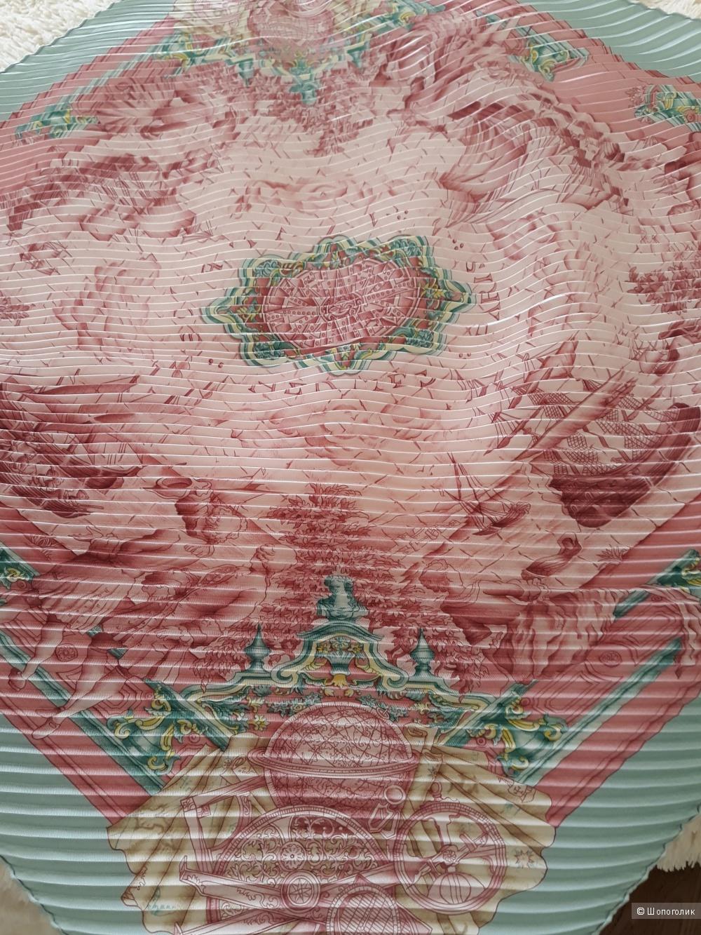 Платок Hermes плиссе, 90*90